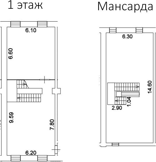 Свободная планировка, 176.7 м²– 2