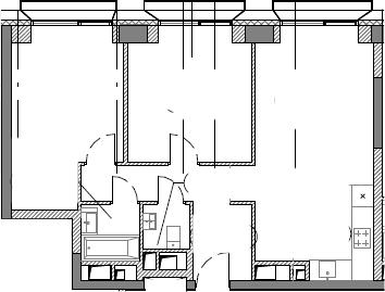 3Е-к.кв, 63.3 м²