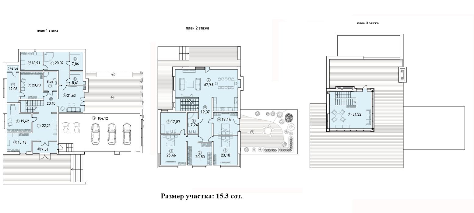 Коттедж, 533 м²– 2