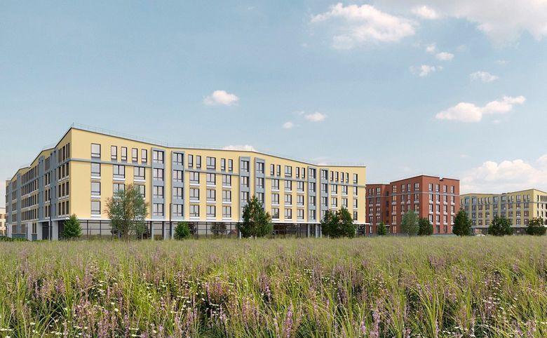 2Е-комнатная квартира, 32.2 м², 1 этаж – 1