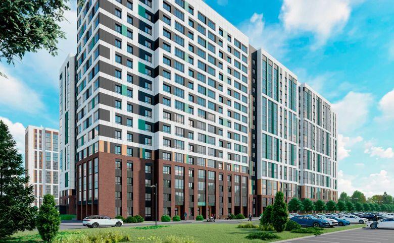 2Е-комнатная квартира, 40.2 м², 11 этаж – 3