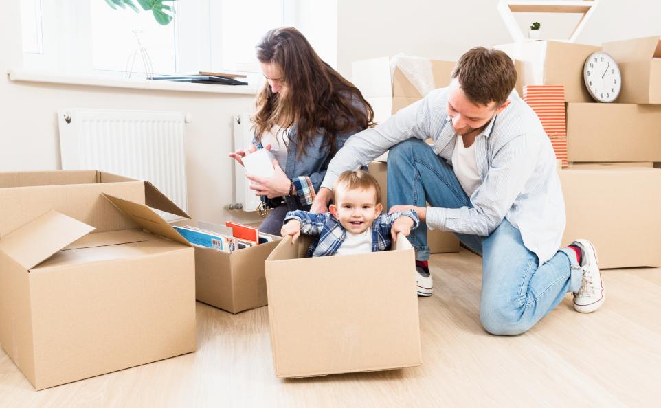 Как выбрать квартиру для семьи с детьми