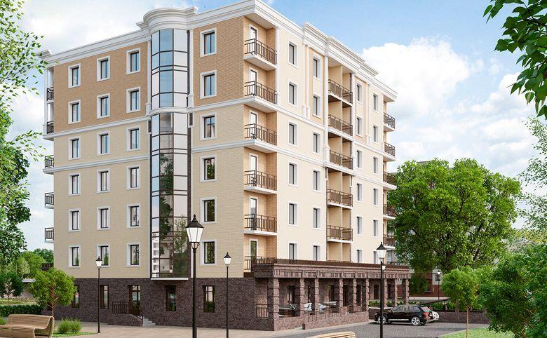 4-комнатная квартира (евро), 130.63 м², 3 этаж – 2