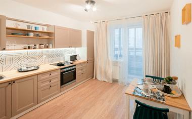 1-комнатная, 35.35 м²– 8