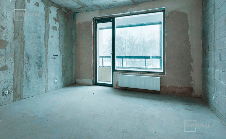 3-комнатная квартира, 116.47 м², 14 этаж – 1