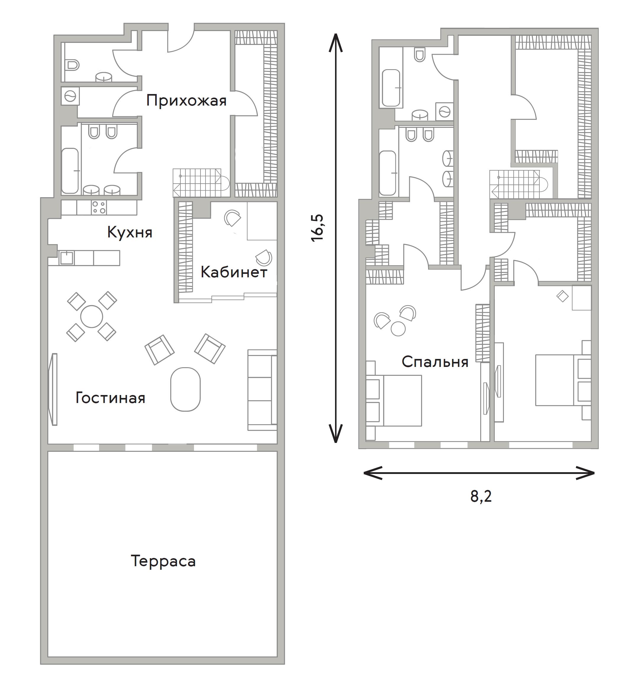 4Е-комнатная, 229.4 м²– 2