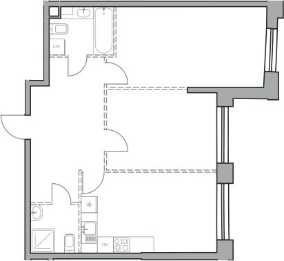 Своб. план., 66.03 м²