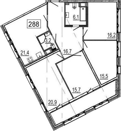 5Е-к.кв, 122.2 м²