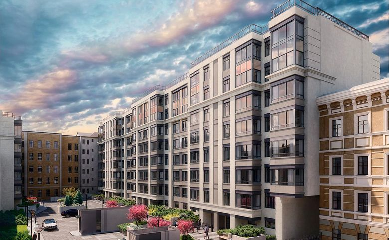4-комнатная квартира (евро), 111.3 м², 4 этаж – 6