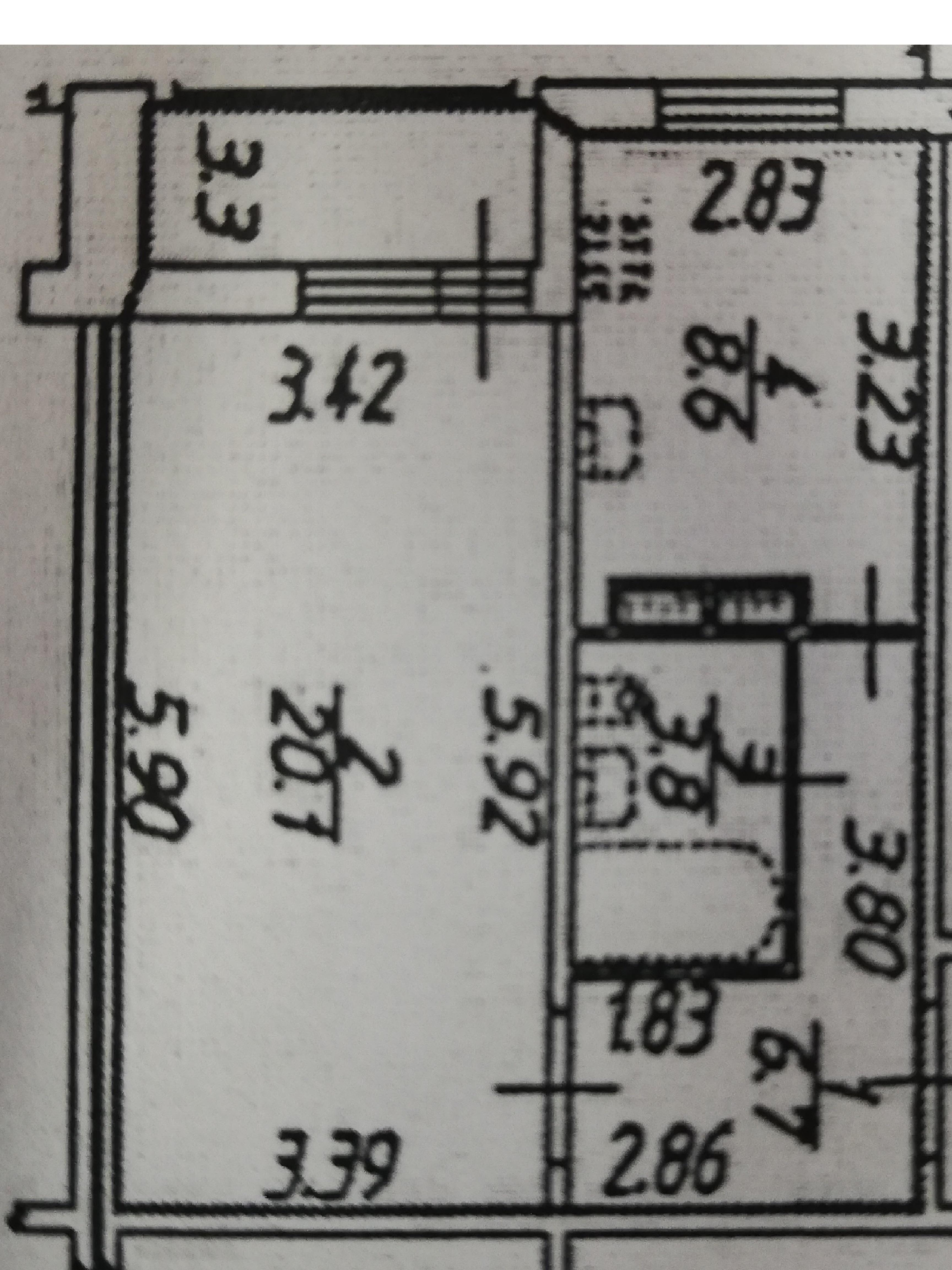 1-к.кв, 40.85 м²