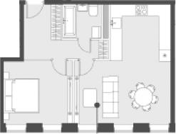 Своб. план., 48.7 м²