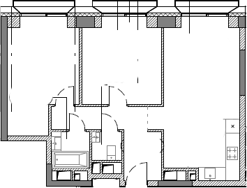 3Е-к.кв, 63.4 м²