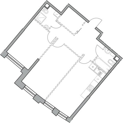 Своб. план., 70.66 м², от 22 этажа