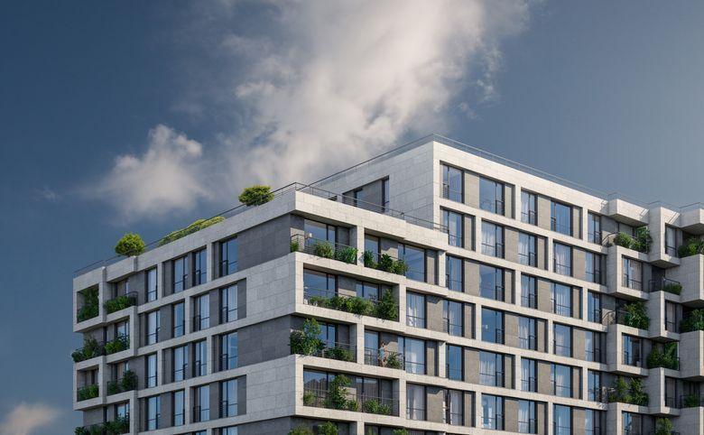 2Е-комнатная квартира, 61.72 м², 11 этаж – 6