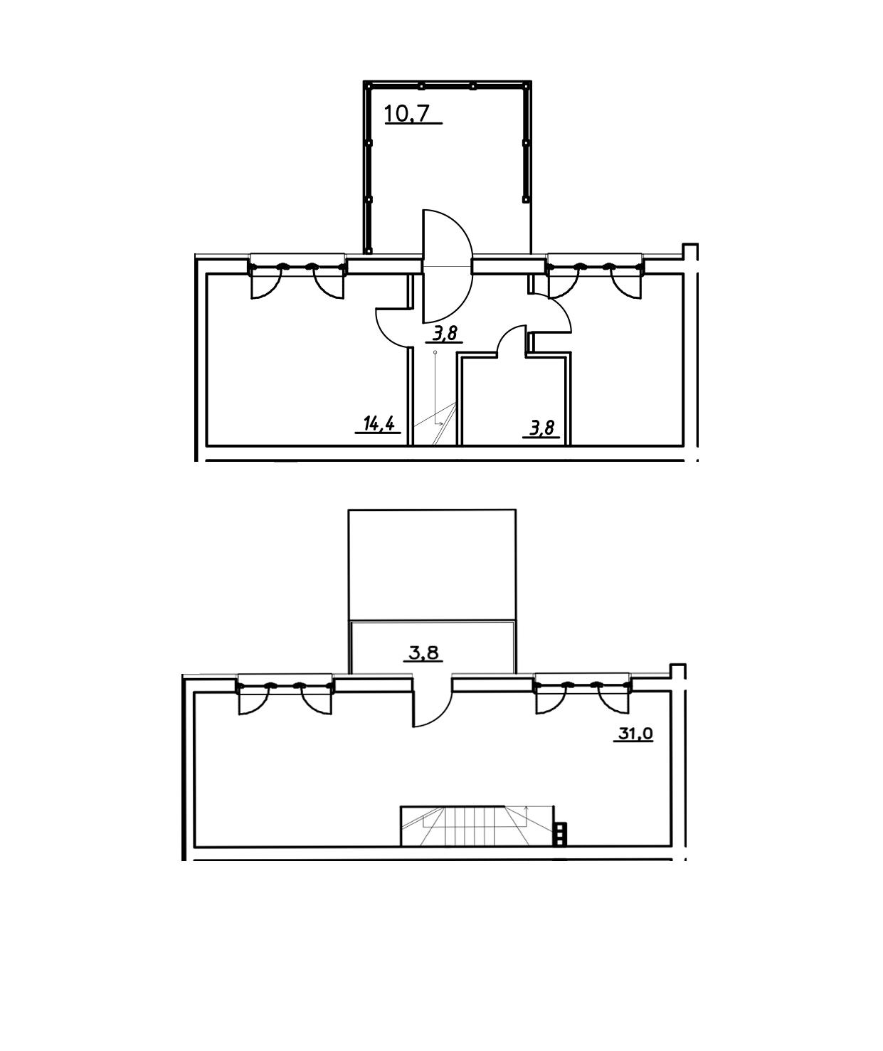 Таунхаус, 79.3 м²– 2