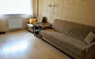 1-комнатная, 33.7 м²– 4