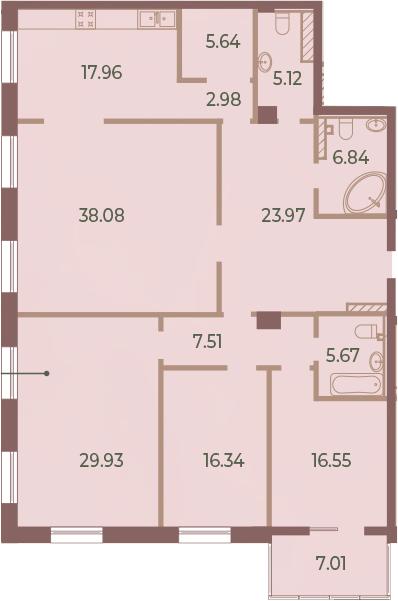 5Е-к.кв, 180.1 м²
