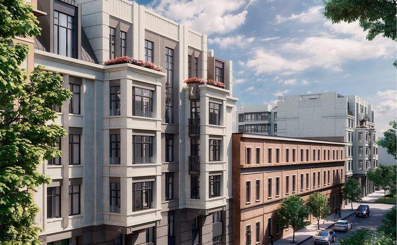 4-комнатная квартира (евро), 111.3 м², 4 этаж – 7