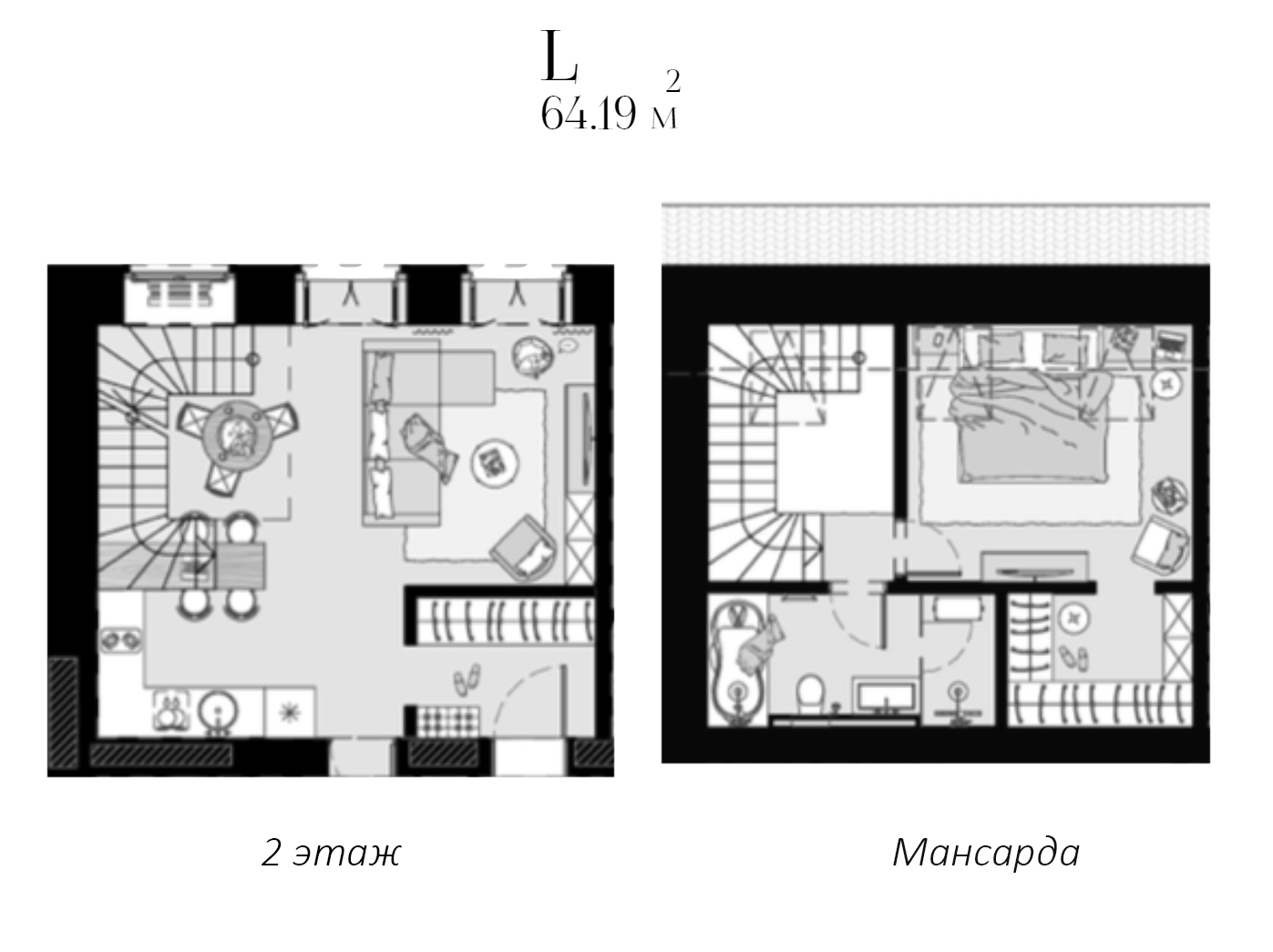 Своб. план., 65.19 м²