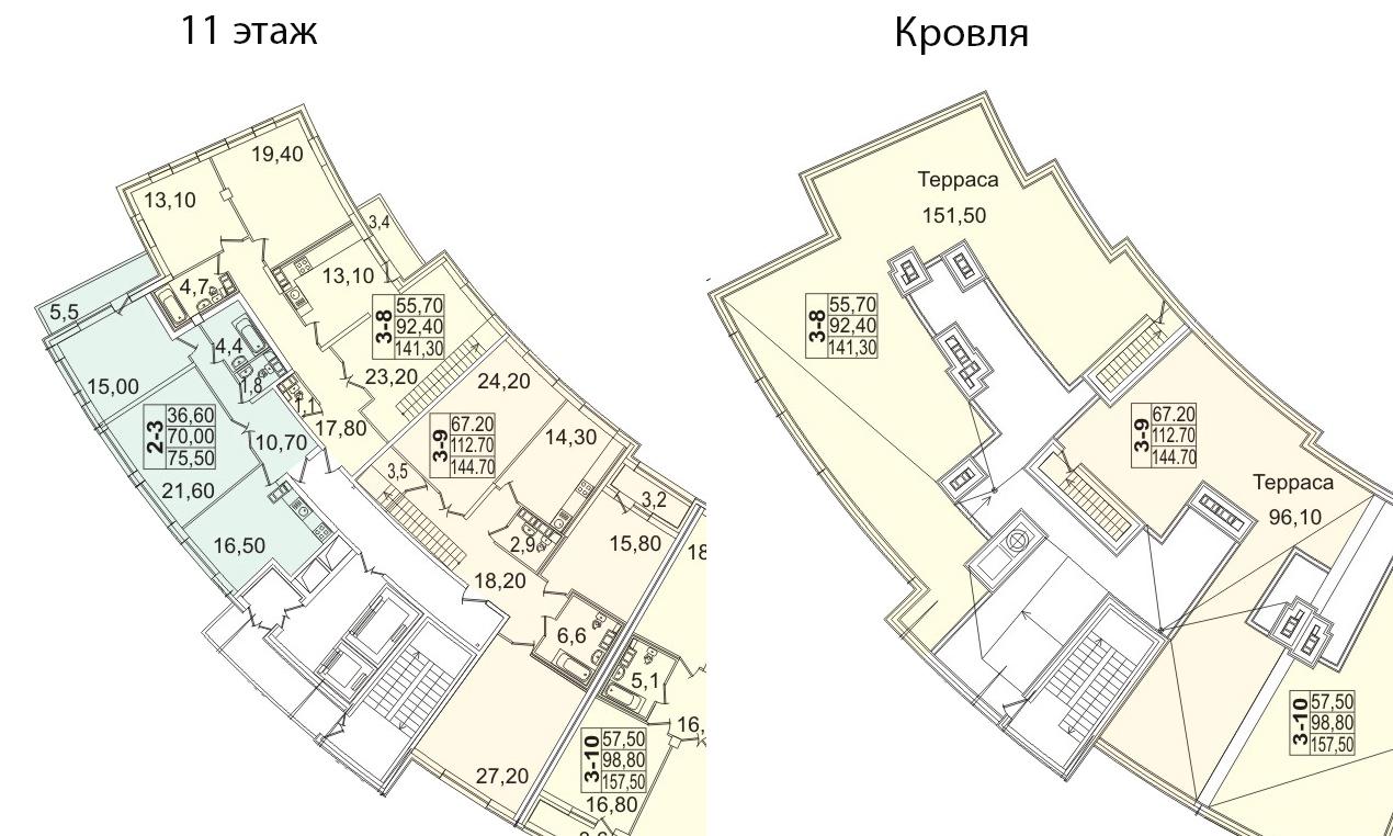 3-к.кв, 246.78 м²