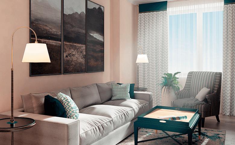 2Е-комнатная квартира, 66.13 м², 16 этаж – 1