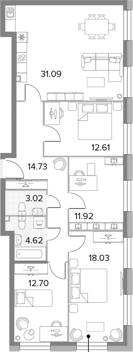 5-к.кв (евро), 108.72 м²