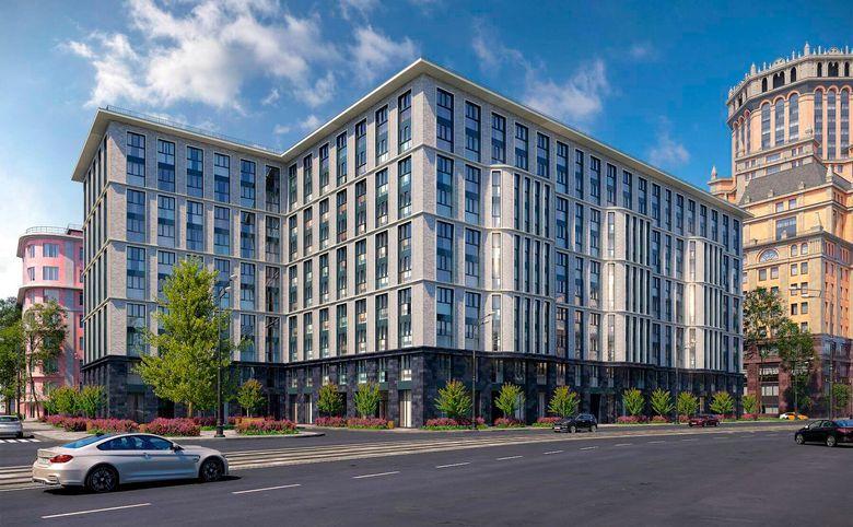 2Е-комнатная квартира, 56.6 м², 7 этаж – 1