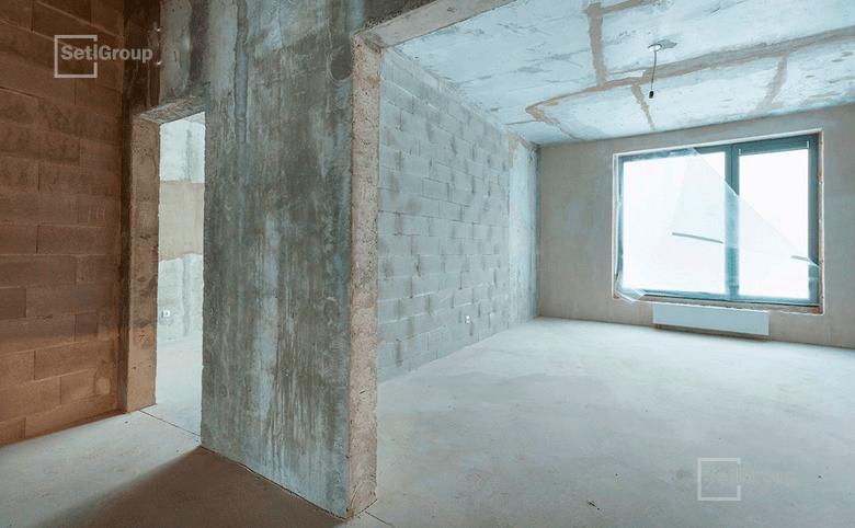 3-комнатная квартира, 80.4 м², 8 этаж – 3