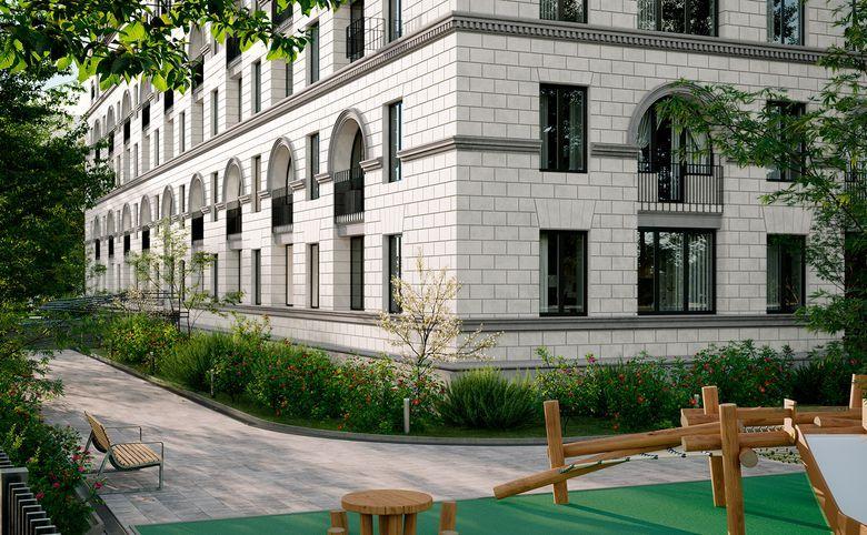 2Е-комнатная квартира, 44.3 м², 2 этаж – 5