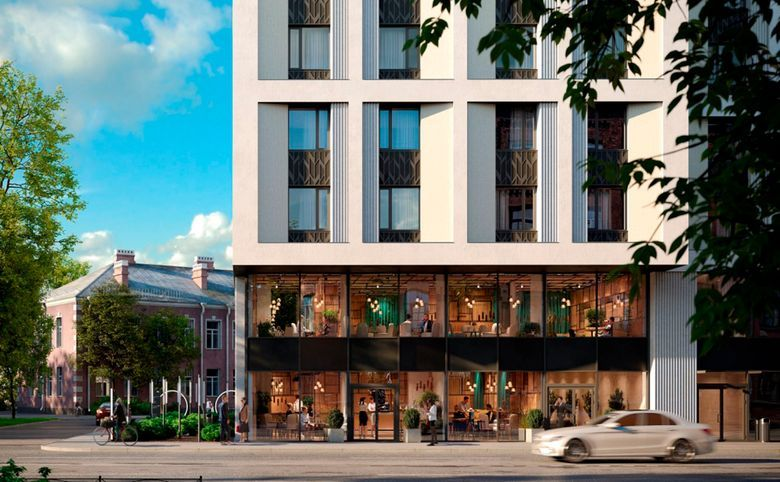 Свободная планировка, 29.9 м², 4 этаж – 2