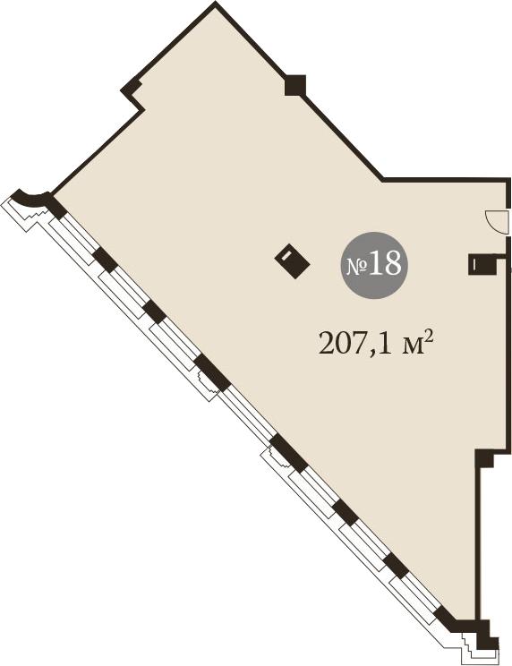 Своб. план., 207.1 м²