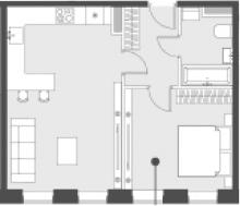 Своб. план., 45.2 м²