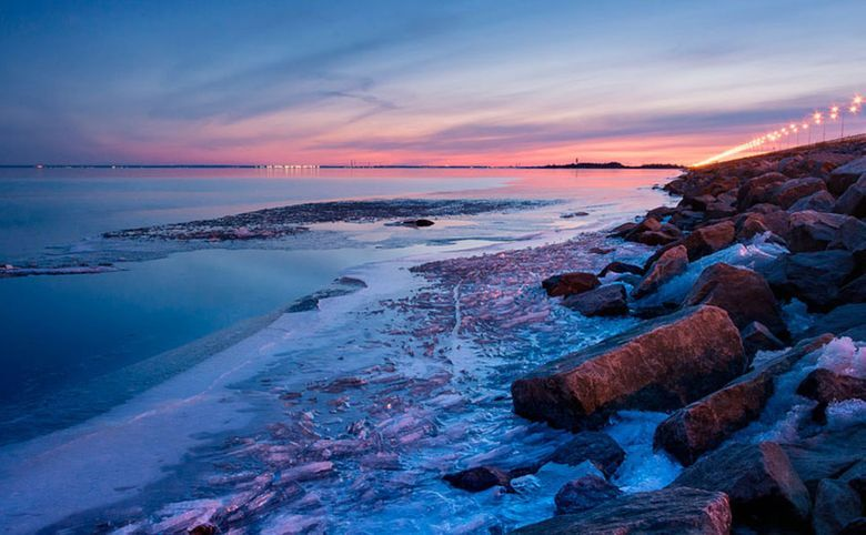 Финский залив в двух минутах пешком