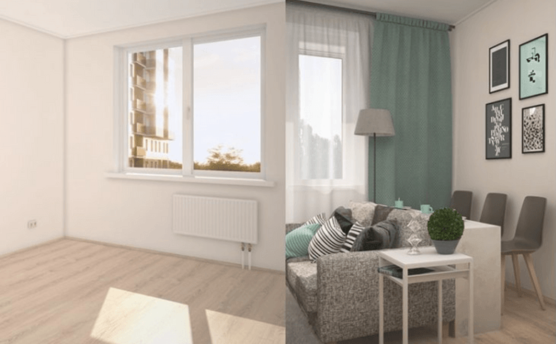 На выбор квартиры с отделкой и без отделки