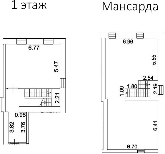 Свободная планировка, 153.1 м²– 2