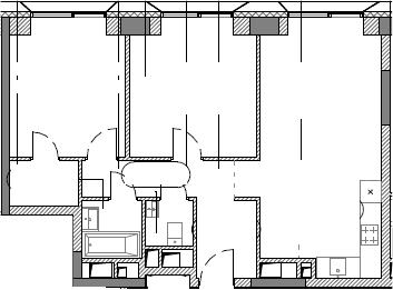 3Е-к.кв, 63.21 м²