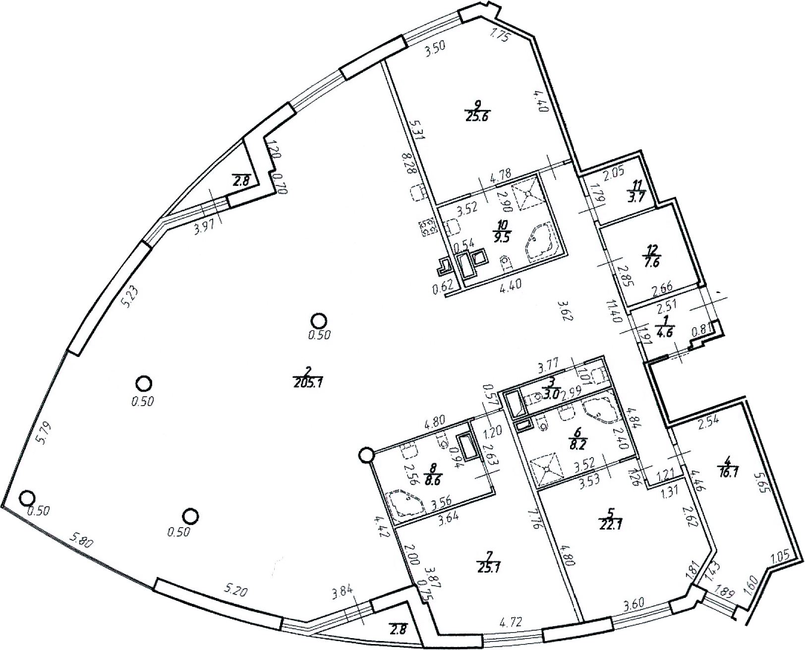 5-к.кв (евро), 344.8 м²