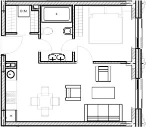 Своб. план., 39.7 м²