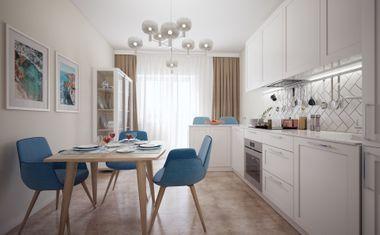 3Е-комнатная, 58 м²– 4