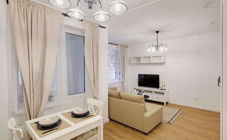 2Е-комнатная квартира, 36.46 м², 2 этаж – 3