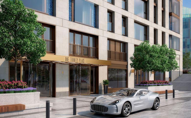 4Е-комнатная квартира, 141.7 м², 2 этаж – 5