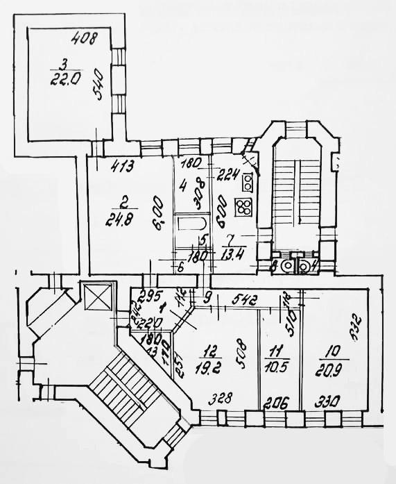 5-к.кв, 136.4 м²