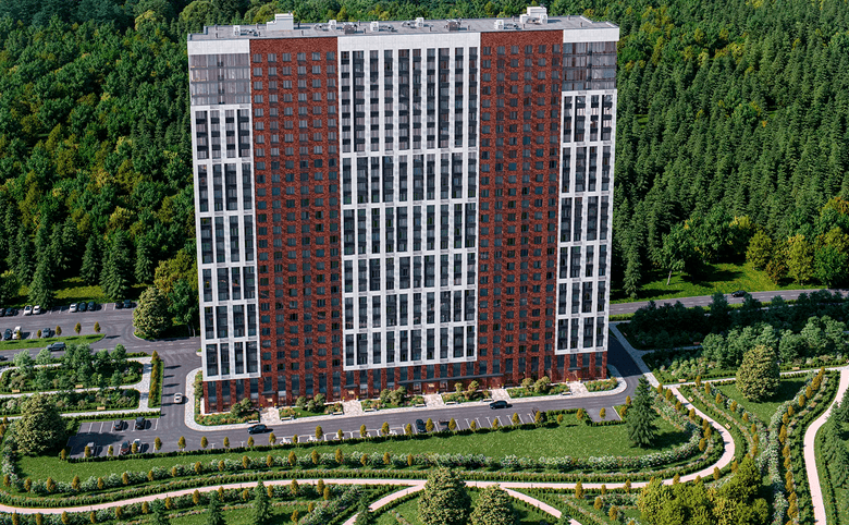 Студия, 20.35 м², 21 этаж – 3