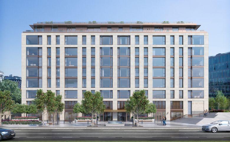 4Е-комнатная квартира, 141.7 м², 2 этаж – 3