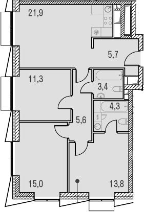 4Е-к.кв, 81 м²