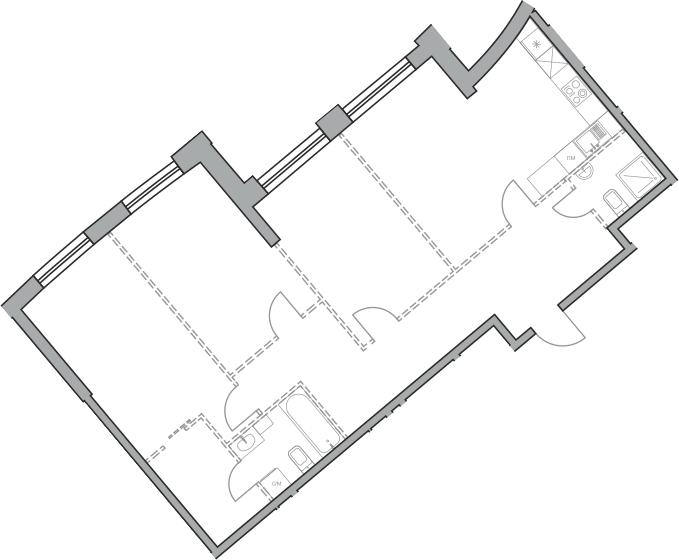 Своб. план., 97.87 м²