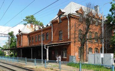 Вокзал ж/д станции Шувалово