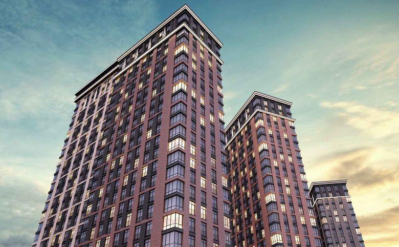 Архитектура корпусов в стиле современного Нью-Йорка