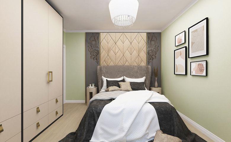 3Е-комнатная квартира, 55.62 м², 2 этаж – 2