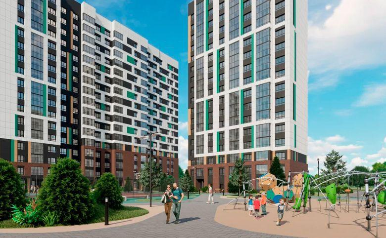 2Е-комнатная квартира, 40.2 м², 11 этаж – 6